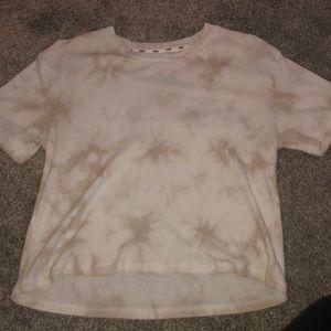 Tee-shirt cropped